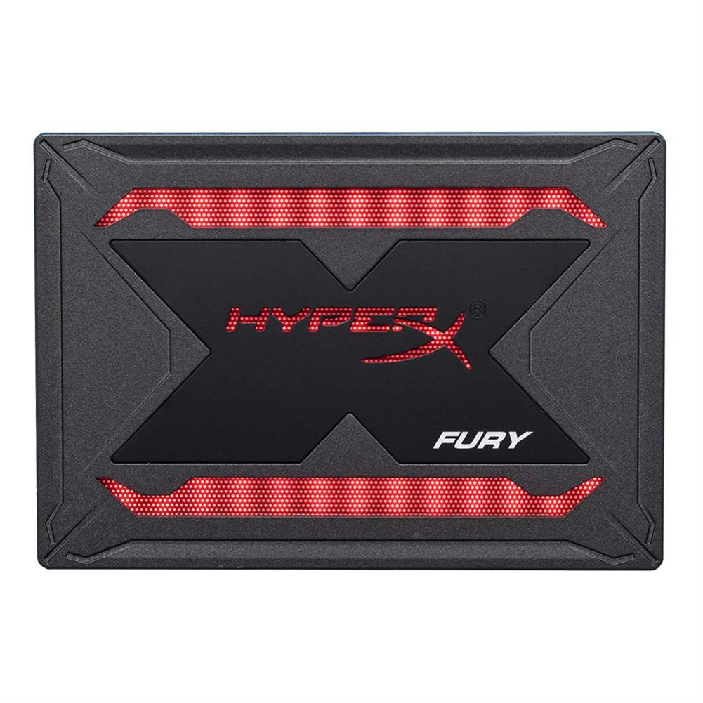 storage Kingston HyperX Fury RGB SHFR200 480GB SSD Solid SATA Drive 2.5 Inch SATA 3 Interface With Dynamic RGB Effects - Black Kingston HyperX Fury RGB SHFR200 480GB SSD Solid SATA Drive 2 5 Inch SATA 3 Interface With Dynamic RGB Effects Black 1