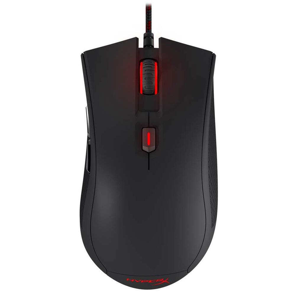wired-mouse Kingston HyperX Pulsefire FPS Gaming Mouse Pixart 3310 Sensor 6 Buttons 3200DPI (HX-MC001A/AM) - Black Kingston HyperX Pulsefire FPS Gaming Mouse Pixart 3310 Sensor 6 Buttons 3200DPI HX MC001A AM Black