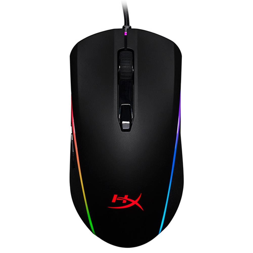 wired-mouse Kingston HyperX Pulsefire Surge RGB Gaming Mouse Pixart 3389 Sensor 16000DPI 6 Programmable Buttons (HX-MC002B) - Black Kingston HyperX Pulsefire Surge RGB Gaming Mouse Pixart 3389 Sensor 16000DPI 6 Programmable Buttons HX MC002B Black