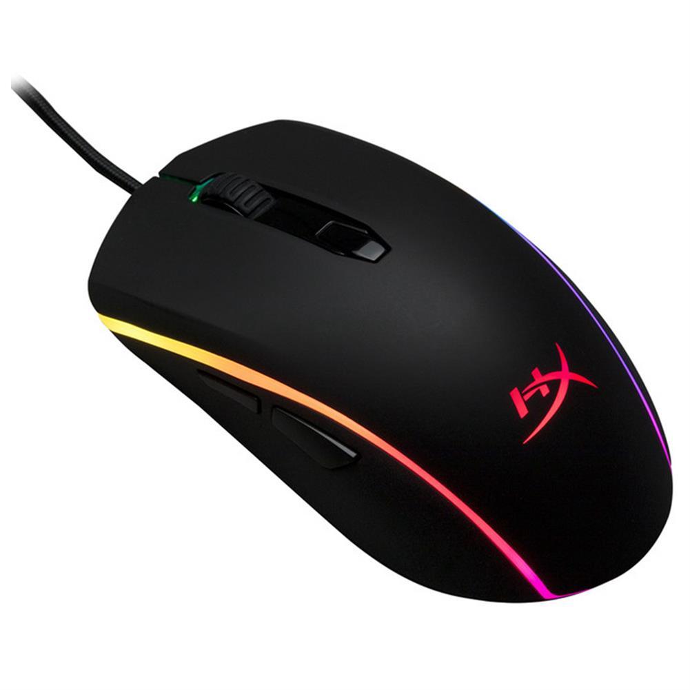 wired-mouse Kingston HyperX Pulsefire Surge RGB Gaming Mouse Pixart 3389 Sensor 16000DPI 6 Programmable Buttons (HX-MC002B) - Black Kingston HyperX Pulsefire Surge RGB Gaming Mouse Pixart 3389 Sensor 16000DPI 6 Programmable Buttons HX MC002B Black 2
