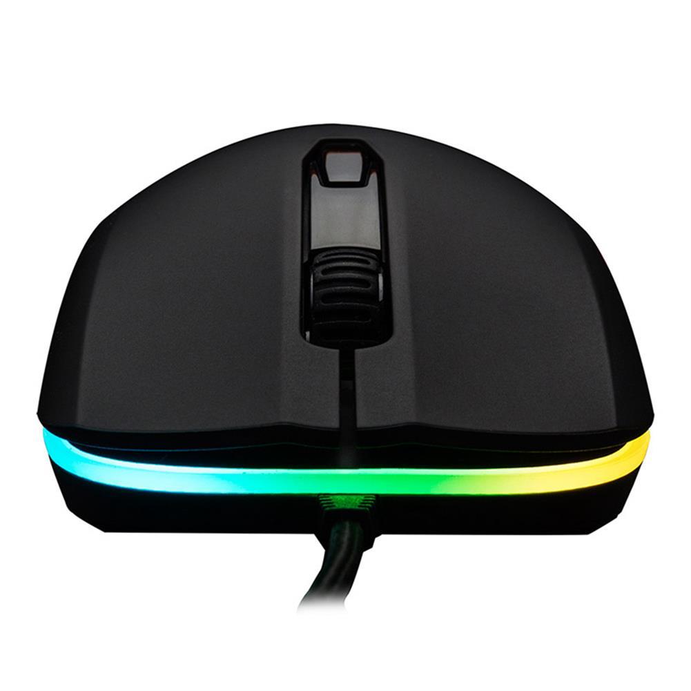 wired-mouse Kingston HyperX Pulsefire Surge RGB Gaming Mouse Pixart 3389 Sensor 16000DPI 6 Programmable Buttons (HX-MC002B) - Black Kingston HyperX Pulsefire Surge RGB Gaming Mouse Pixart 3389 Sensor 16000DPI 6 Programmable Buttons HX MC002B Black 4