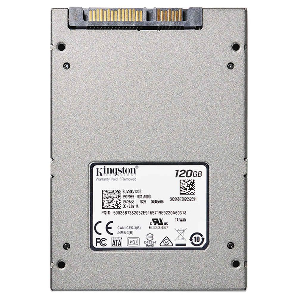 ssd-hdd-enclosures-Kingston SUV500 120GB SSD 2.5 Inch Solid State Drive SATA Rev. 3.0 (6Gb/s) Interface Read Speed 520Mb/s - Gray-Kingston SUV500 120GB SSD 2 5 Inch Solid State Drive SATA Rev 3 0 6Gb s Interface Read Speed 520Mb s Gray 3