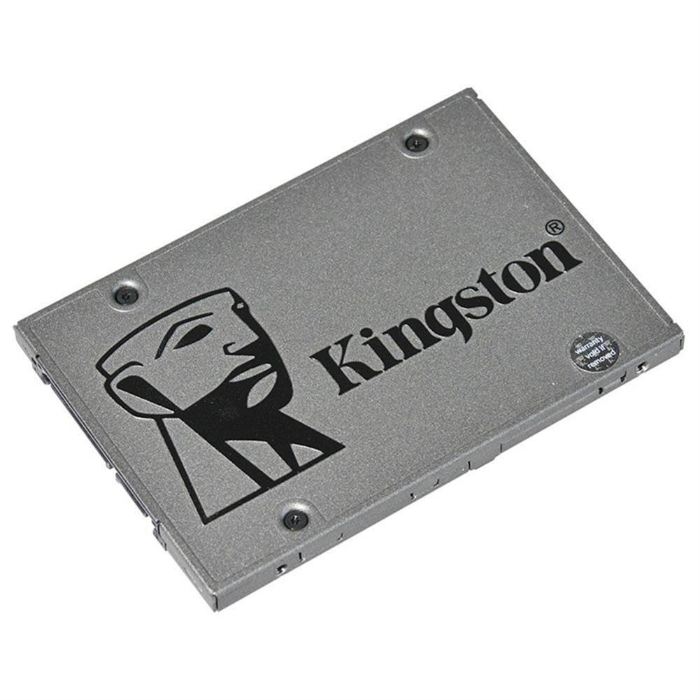 ssd-hdd-enclosures-Kingston SUV500 240GB SSD 2.5 Inch Solid State Drive SATA Rev. 3.0 (6Gb/s) Interface Read Speed 520Mb/s - Gray-Kingston SUV500 240GB SSD 2 5 Inch Solid State Drive SATA Rev 3 0 6Gb s Interface Read Speed 520Mb s Gray