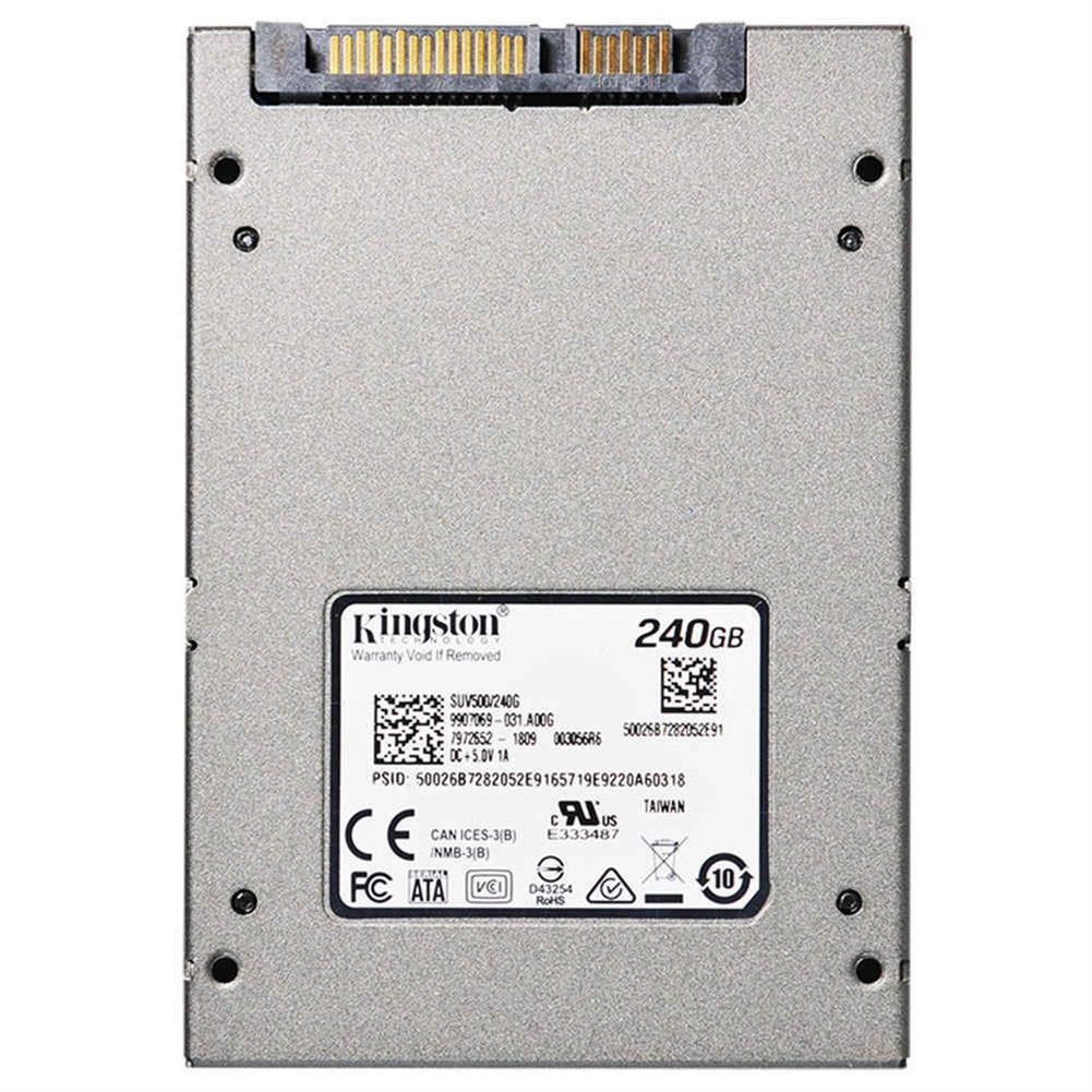 ssd-hdd-enclosures-Kingston SUV500 240GB SSD 2.5 Inch Solid State Drive SATA Rev. 3.0 (6Gb/s) Interface Read Speed 520Mb/s - Gray-Kingston SUV500 240GB SSD 2 5 Inch Solid State Drive SATA Rev 3 0 6Gb s Interface Read Speed 520Mb s Gray 3