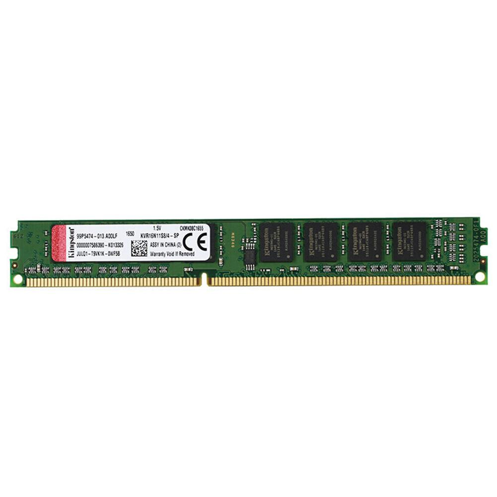 memory-modules Kingston ValueRAM 240PIN DDR3 1600MHz 4GB DIMM Motherboard Memory Module Non-ECC Unbuffered - Green Kingston ValueRAM 240PIN DDR3 1600MHz 4GB DIMM Motherboard Memory Module Non ECC Unbuffered Green
