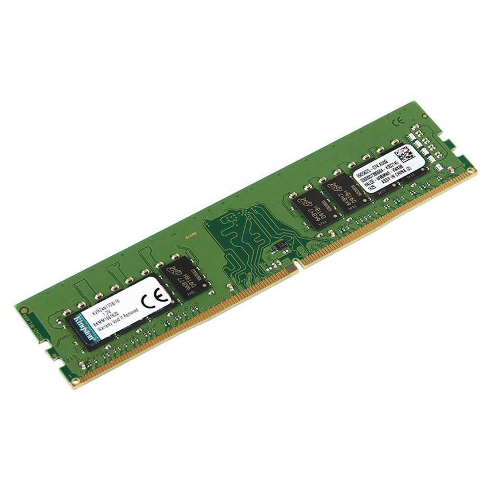 memory Kingston ValueRAM KVR24N17S8/16 DDR4 2400MHz 16GB Desktop Motherboard Memory Module - Green Kingston ValueRAM KVR24N17S8 16 DDR4 2400MHz 16GB Desktop Motherboard Memory Module Green 1