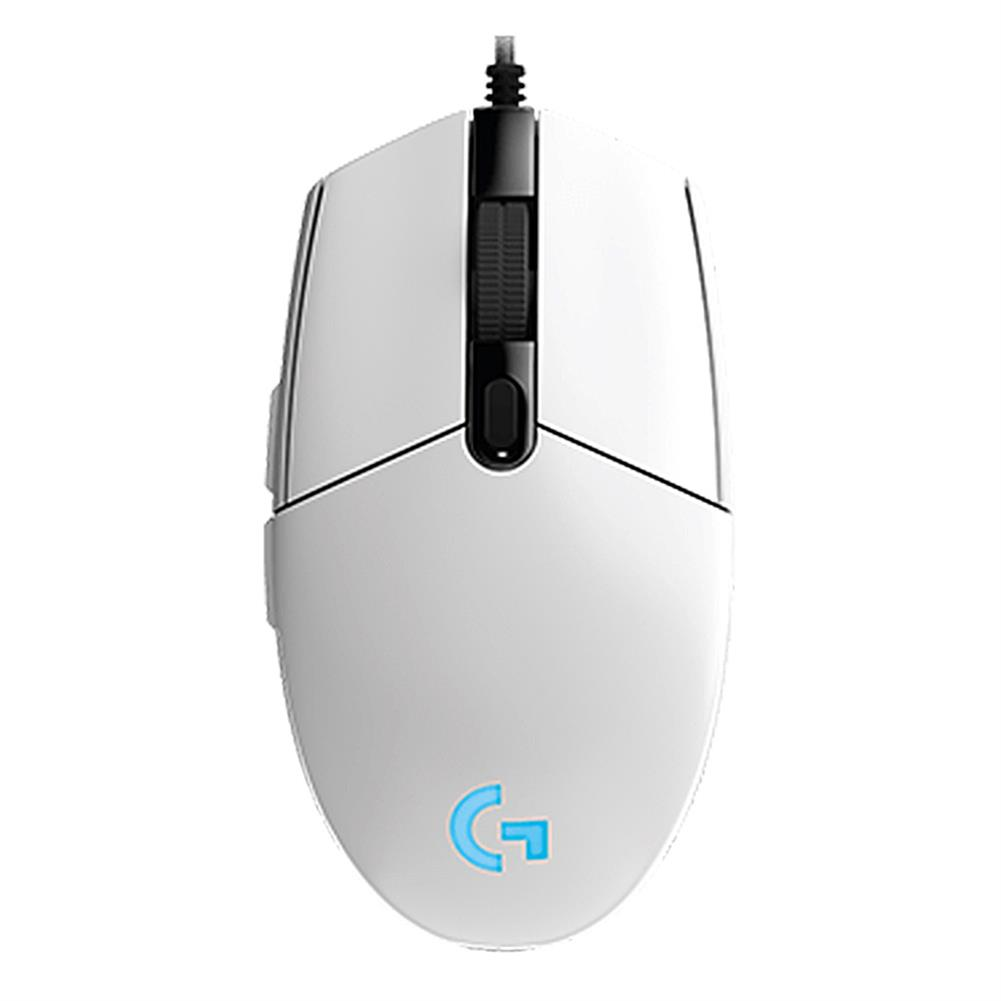 wired-mouse Logitech G102 Prodigy Wired Gaming Mouse 6 Programmable Keys RGB Backlight 6000DPI - White Logitech G102 Prodigy Wired Gaming Mouse 6 Programmable Keys RGB Backlight 6000DPI White