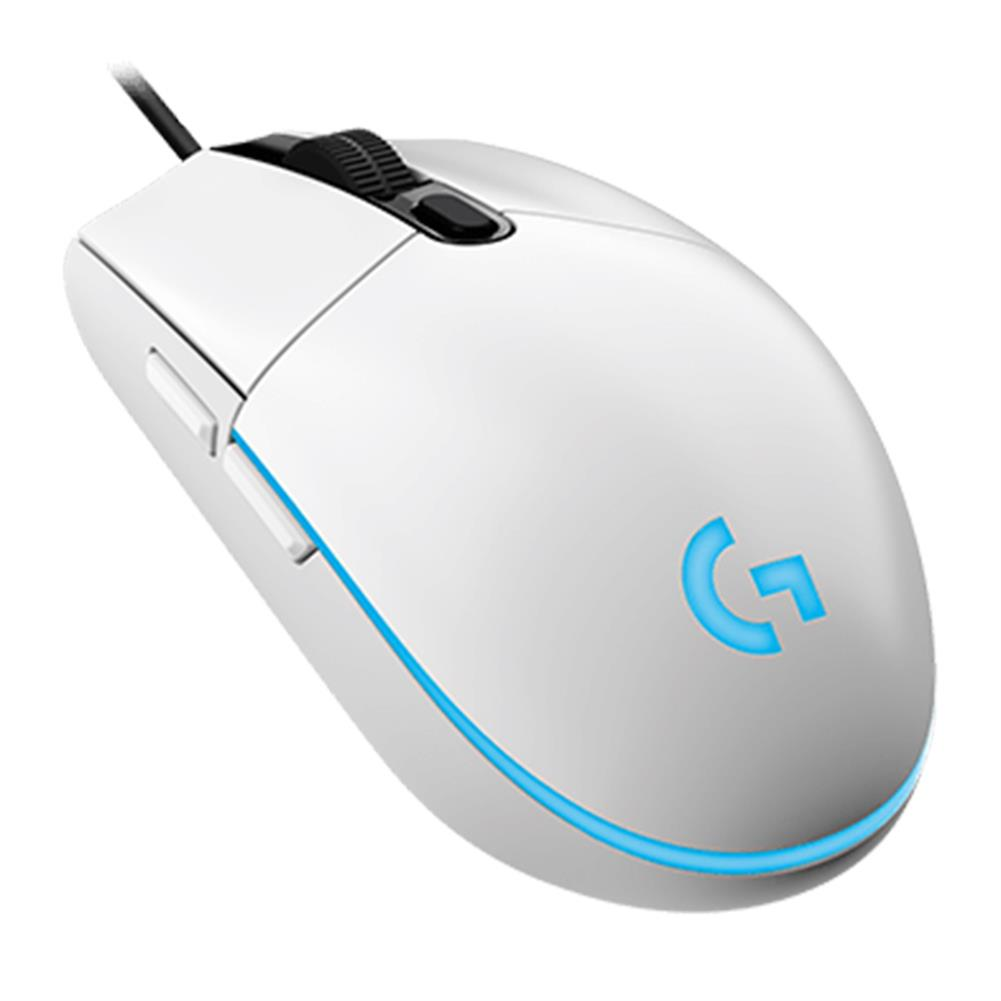 wired-mouse Logitech G102 Prodigy Wired Gaming Mouse 6 Programmable Keys RGB Backlight 6000DPI - White Logitech G102 Prodigy Wired Gaming Mouse 6 Programmable Keys RGB Backlight 6000DPI White 2