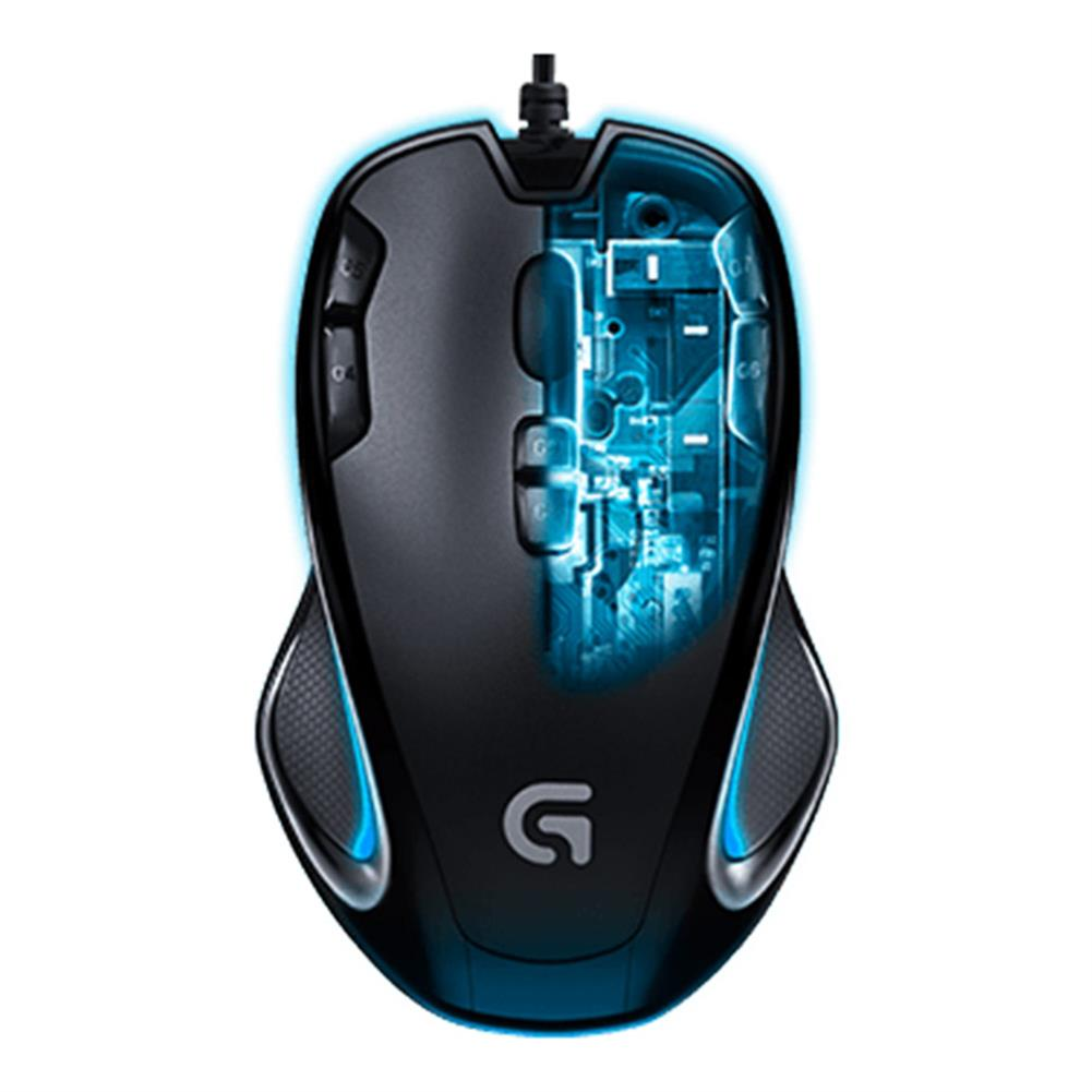 wired-mouse Logitech G300S Wired Gaming Mouse 9 Programmable Keys 2500DPI Ergonomic Shape For PC / Laptop - Black Logitech G300S Wired Gaming Mouse 9 Programmable Keys 2500DPI Ergonomic Shape For PC Laptop Black 2