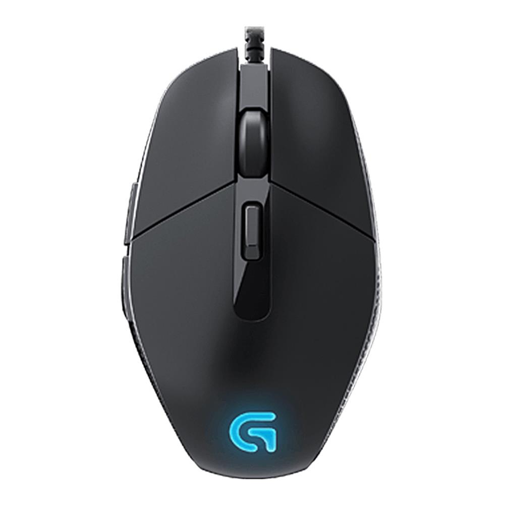 wired-mouse-Logitech G302 Daedalus Prime MOBA Wired Optical Gaming Mouse Lightweight Design 4000 DPI For PC / Laptop - Black-Logitech G302 Daedalus Prime MOBA Wired Optical Gaming Mouse Lightweight Design 4000 DPI For PC Laptop Black