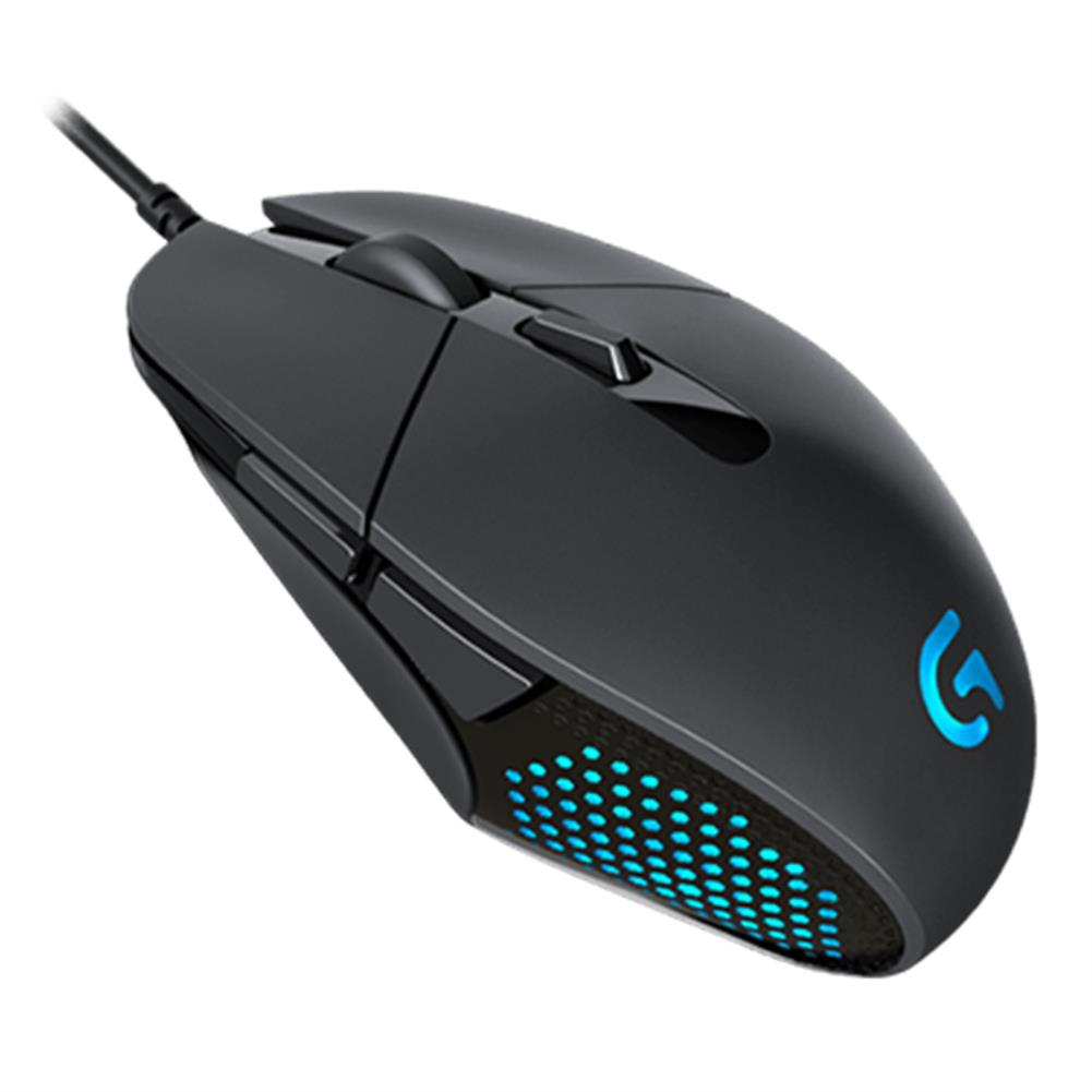 wired-mouse Logitech G302 Daedalus Prime MOBA Wired Optical Gaming Mouse Lightweight Design 4000 DPI For PC / Laptop - Black Logitech G302 Daedalus Prime MOBA Wired Optical Gaming Mouse Lightweight Design 4000 DPI For PC Laptop Black 1