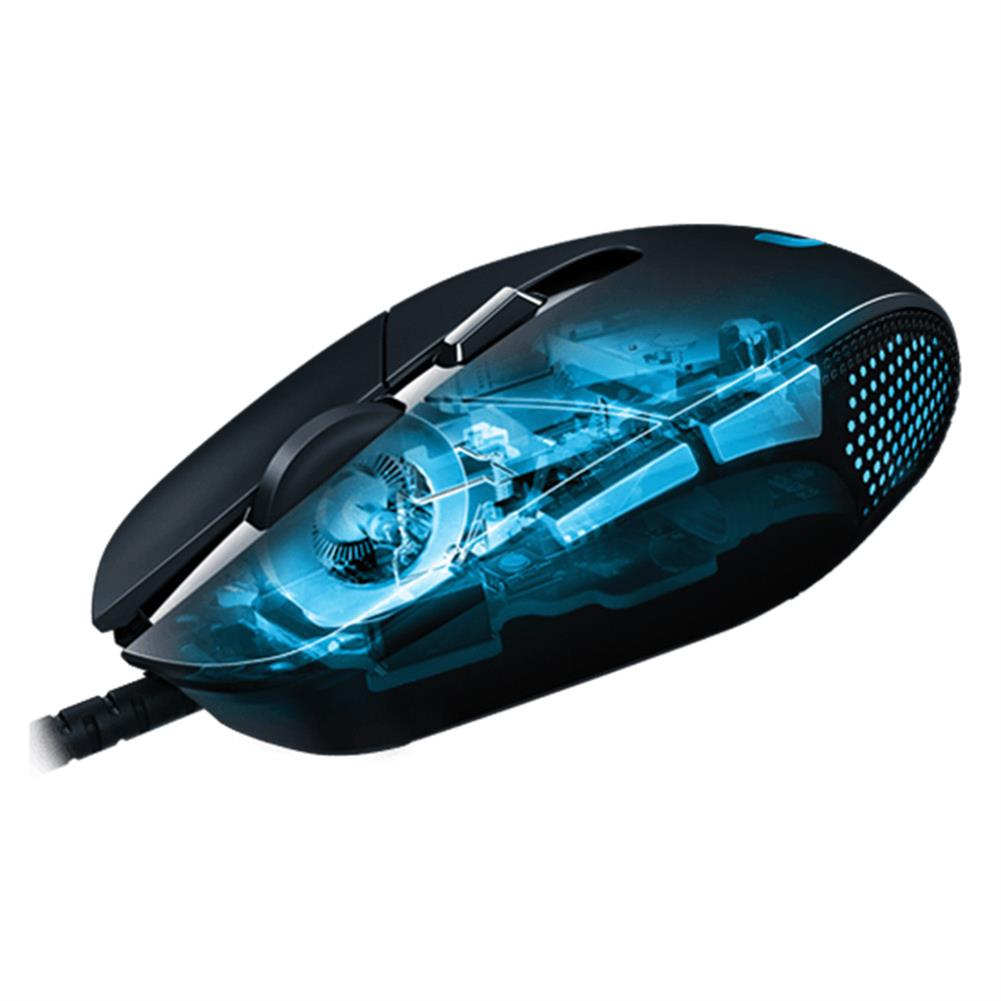wired-mouse Logitech G302 Daedalus Prime MOBA Wired Optical Gaming Mouse Lightweight Design 4000 DPI For PC / Laptop - Black Logitech G302 Daedalus Prime MOBA Wired Optical Gaming Mouse Lightweight Design 4000 DPI For PC Laptop Black 2