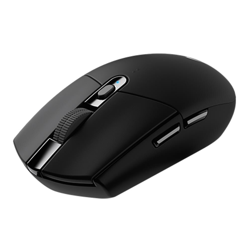 wireless-mouse-Logitech G304 Lightspeed Wireless Gaming Mouse 6 Programmable Keys 12000DPI USB Interface Support Windows / Mac OS System - Black-Logitech G304 Lightspeed Wireless Gaming Mouse 6 Programmable Keys 12000DPI USB Interface Support Windows Mac OS System Black 1