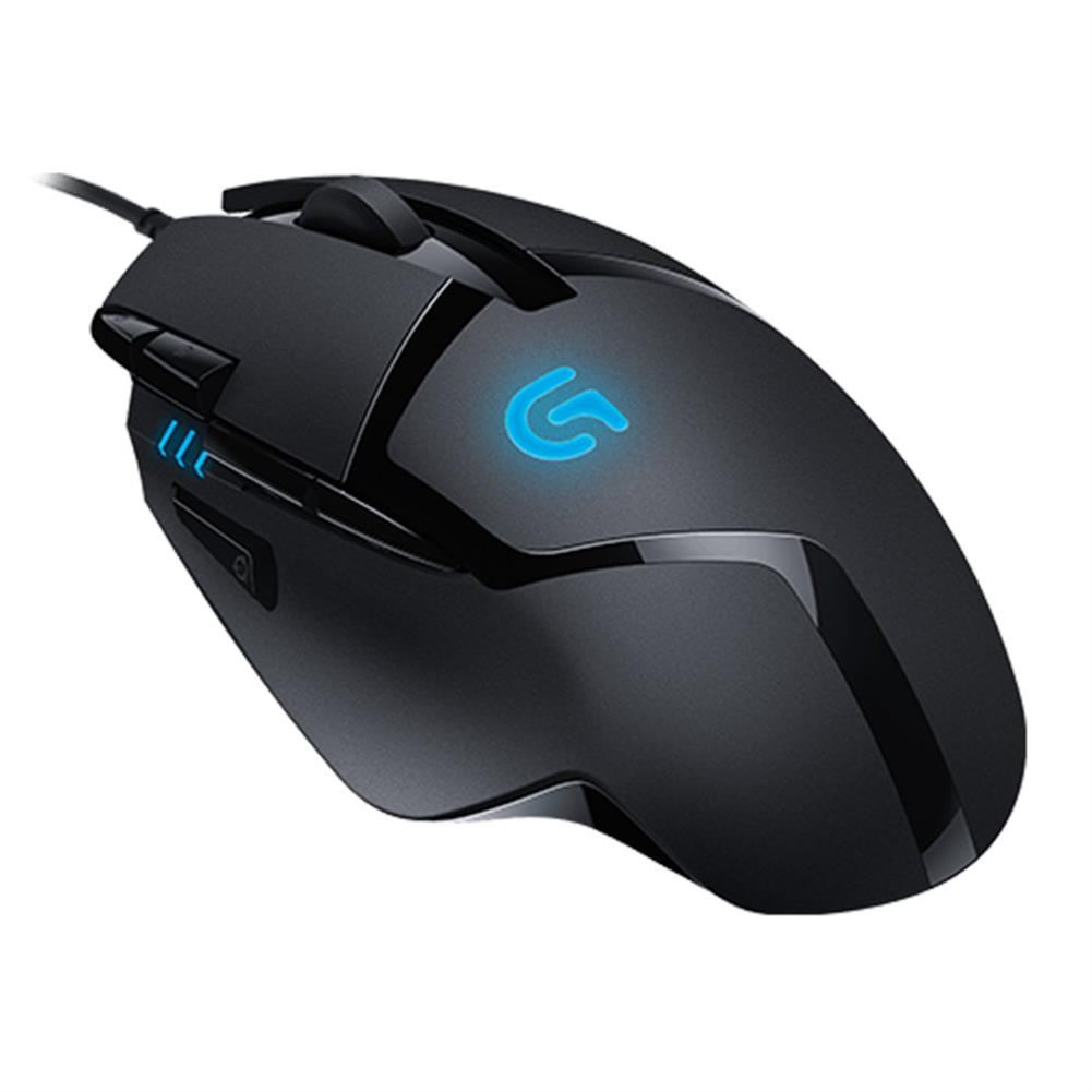 wired-mouse Logitech G402 Hyperion Fury FPS Wired Gaming Mouse 8 Programmable Keys 4000DPI - Black Logitech G402 Hyperion Fury FPS Wired Gaming Mouse 8 Programmable Keys 4000DPI Black 5