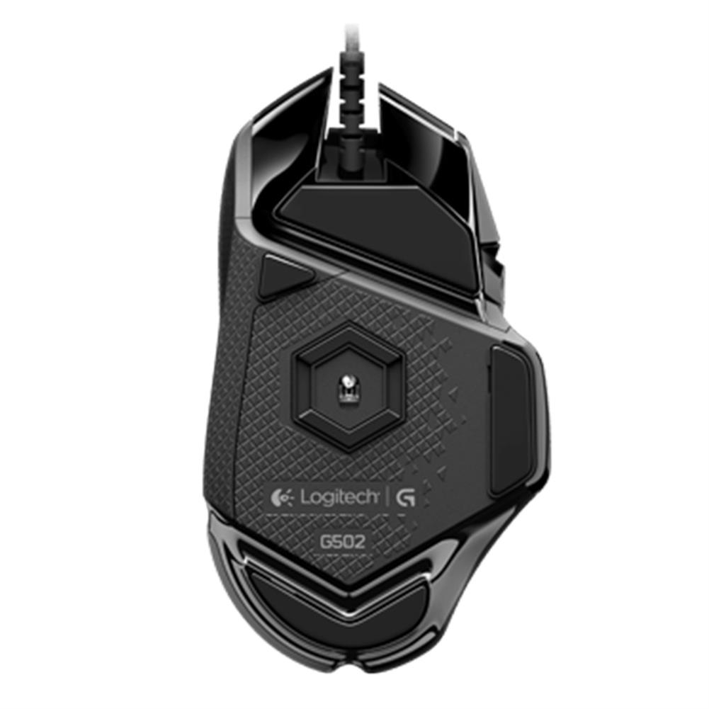 wired-mouse Logitech G502 Proteus Spectrum Wired Adaptive Gaming Mouse 12000DPI USB Computer Mouse For PC / Laptop - Black Logitech G502 Proteus Spectrum Wired Adaptive Gaming Mouse 12000DPI USB Computer Mouse For PC Laptop Black 3