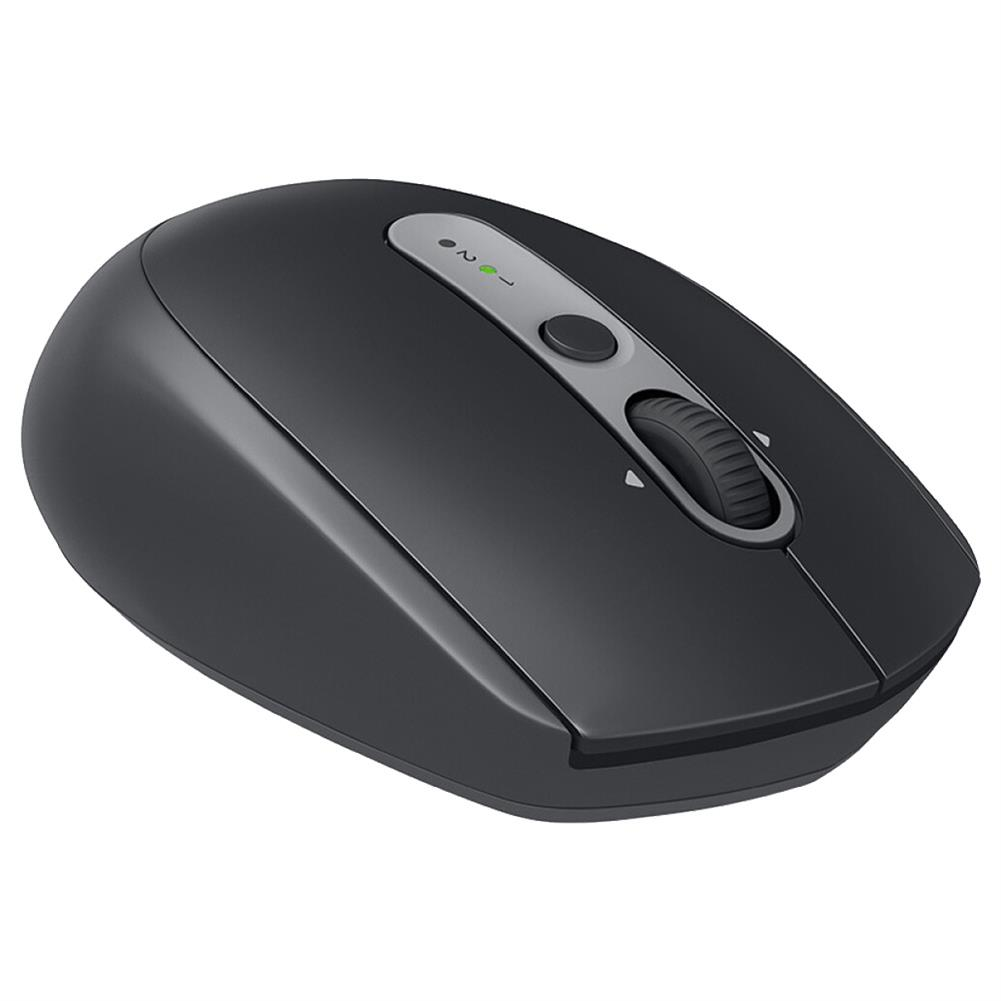 wireless-mouse-Logitech M590 Wireless Mute Mouse Bluetooth 2.4G Dual Mode Multi-device Control - Black-Logitech M590 Wireless Mute Mouse Bluetooth 2 4G Dual Mode Multi device Control Black 2