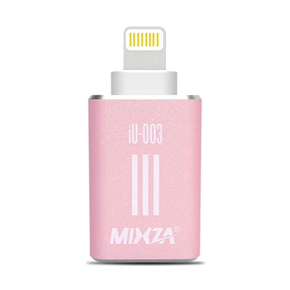 card-readers-MIXZA iU-003 Micro SD Card TF Card Reader For Apple Smartphone - Rose Gold-MIXZA iU 003 Micro SD Card TF Card Reader For Apple Smartphone Rose Gold