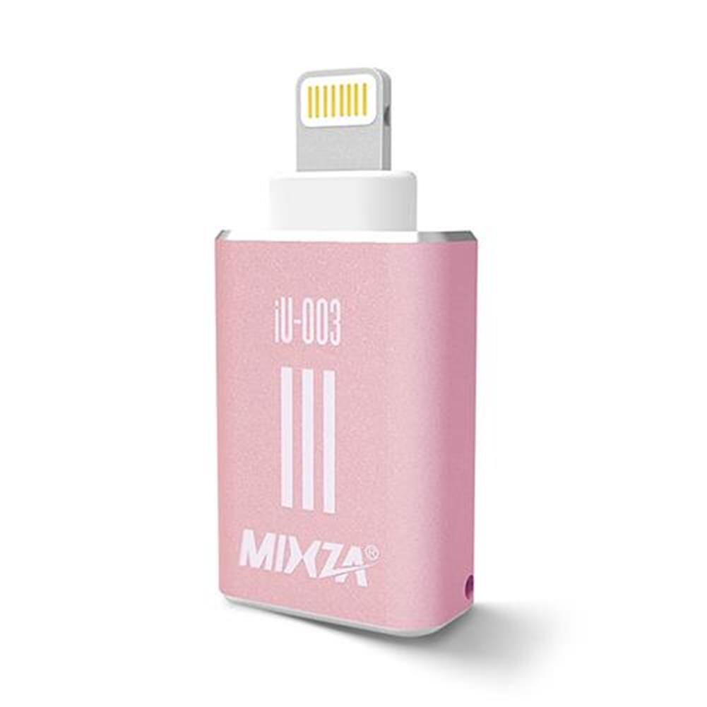 gadgets MIXZA iU-003 Micro SD Card TF Card Reader For Apple Smartphone - Rose Gold MIXZA iU 003 Micro SD Card TF Card Reader For Apple Smartphone Rose Gold 1