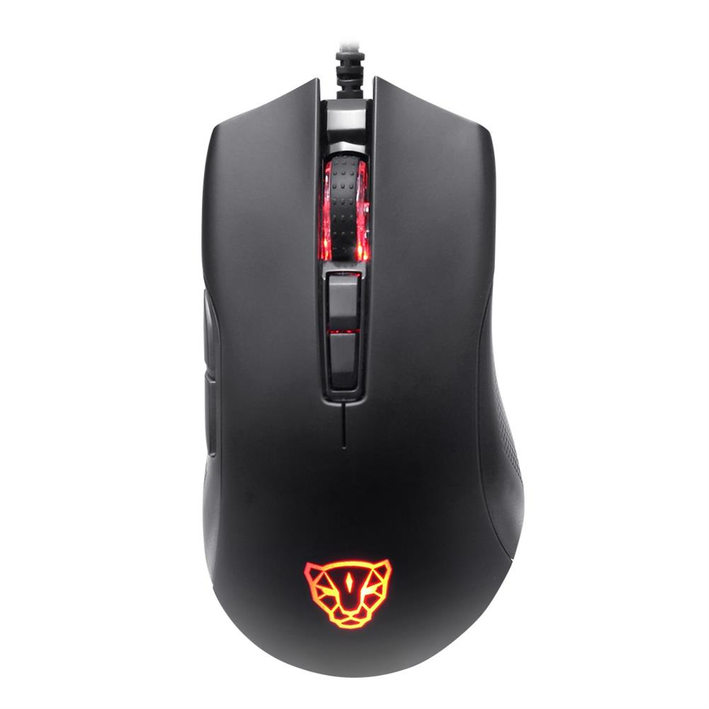wired-mouse Motospeed V70 PMW3325 3500DPI 7 Buttons RGB Lighting Mode Optical Wired Gaming Mouse For Laptops Desktops - Black Motospeed V70 PMW3325 3500DPI 7 Buttons RGB Lighting Mode Optical Wired Gaming Mouse For Laptops Desktops Black 2