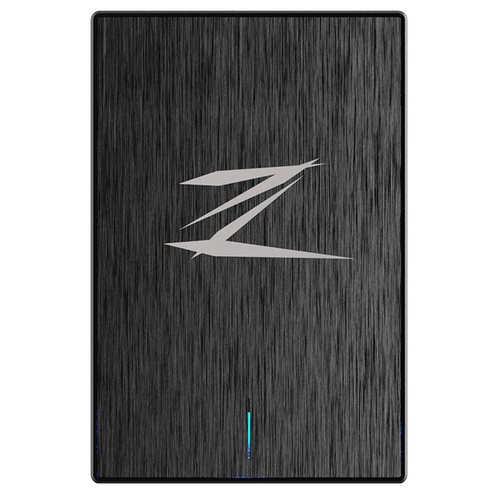 ssd-hdd-enclosures-Netac Z1 128GB Portable SSD External Solid State Drive USB 3.0 Read Speed 460MB/S - Black-Netac Z1 128GB Portable SSD External Solid State Drive USB 3 0 Read Speed 460MB S Black