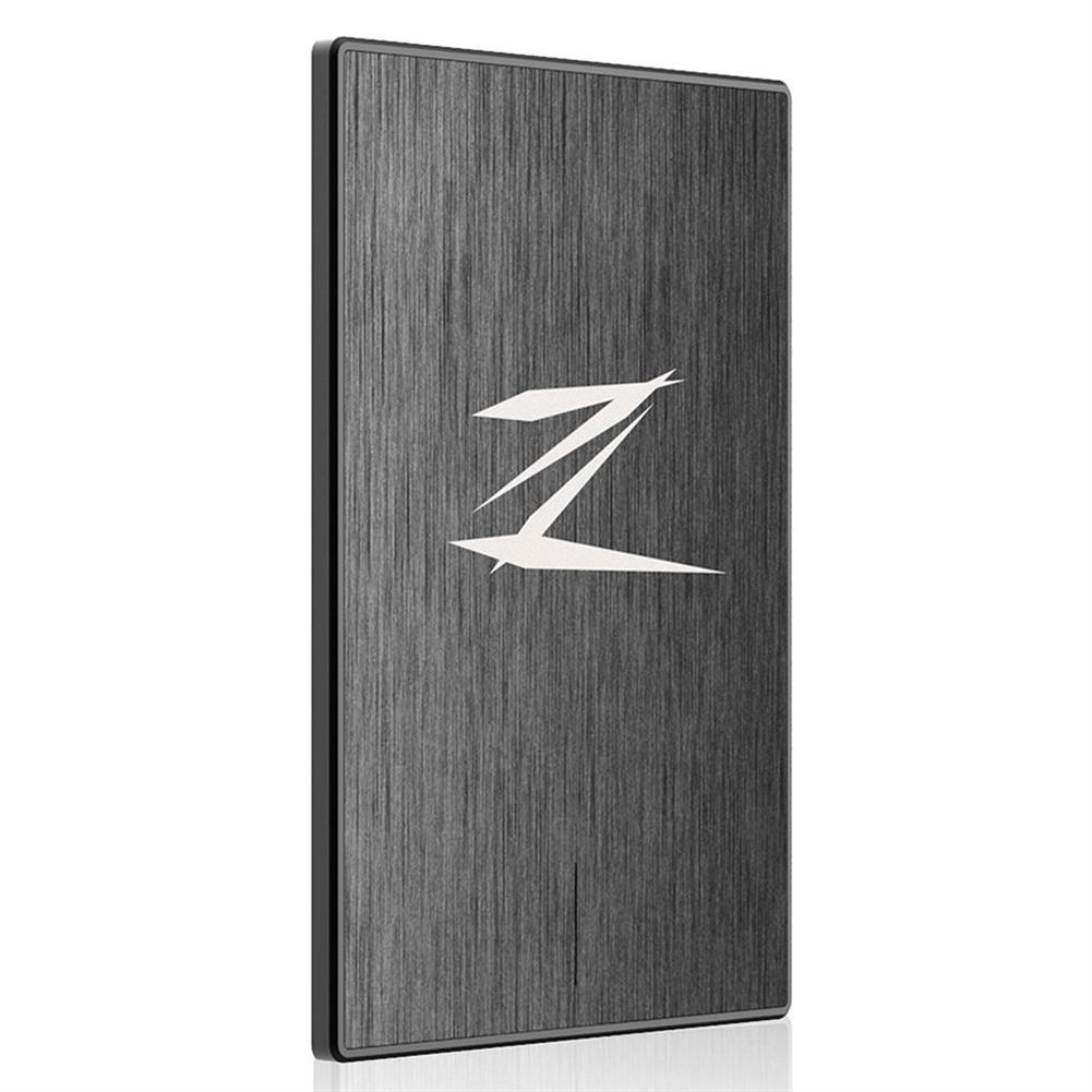 ssd-hdd-enclosures-Netac Z1 128GB Portable SSD External Solid State Drive USB 3.0 Read Speed 460MB/S - Black-Netac Z1 128GB Portable SSD External Solid State Drive USB 3 0 Read Speed 460MB S Black 2