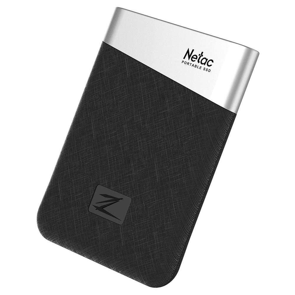 ssd-hdd-enclosures-Netac Z6 Portable External 240GB SSD Type-c USB3.1 Solid State Drive 400MB/s Transmission Speed - Black-Netac Z6 Portable External 240GB SSD Type c USB3 1 Solid State Drive 400MB s Transmission Speed Black 3