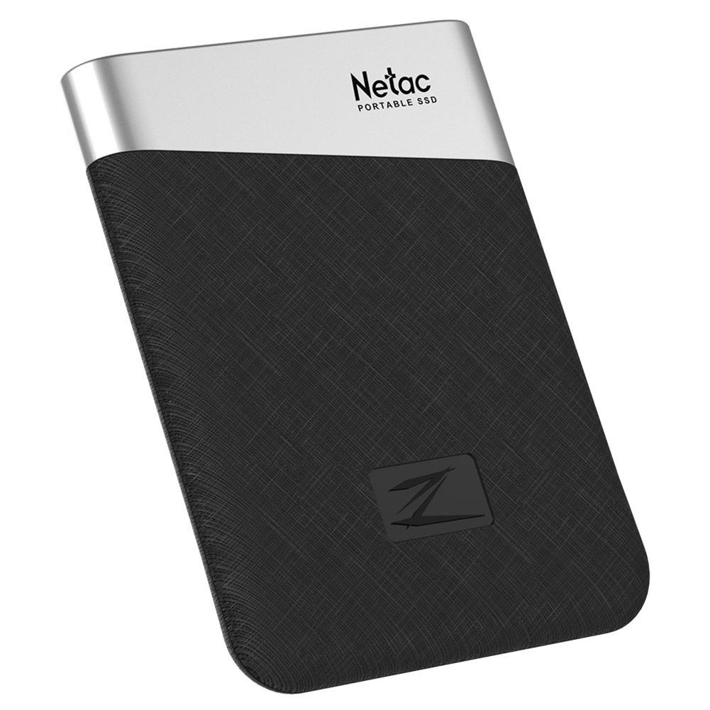 ssd-hdd-enclosures-Netac Z6 Portable External 240GB SSD Type-c USB3.1 Solid State Drive 400MB/s Transmission Speed - Black-Netac Z6 Portable External 240GB SSD Type c USB3 1 Solid State Drive 400MB s Transmission Speed Black 4