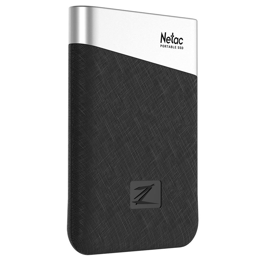 ssd-hdd-enclosures-Netac Z6 Portable External 240GB SSD Type-c USB3.1 Solid State Drive 400MB/s Transmission Speed - Black-Netac Z6 Portable External 240GB SSD Type c USB3 1 Solid State Drive 400MB s Transmission Speed Black 6