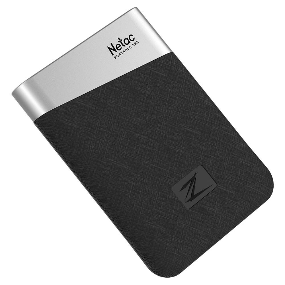ssd-hdd-enclosures-Netac Z6 Portable External 240GB SSD Type-c USB3.1 Solid State Drive 400MB/s Transmission Speed - Black-Netac Z6 Portable External 240GB SSD Type c USB3 1 Solid State Drive 400MB s Transmission Speed Black 7