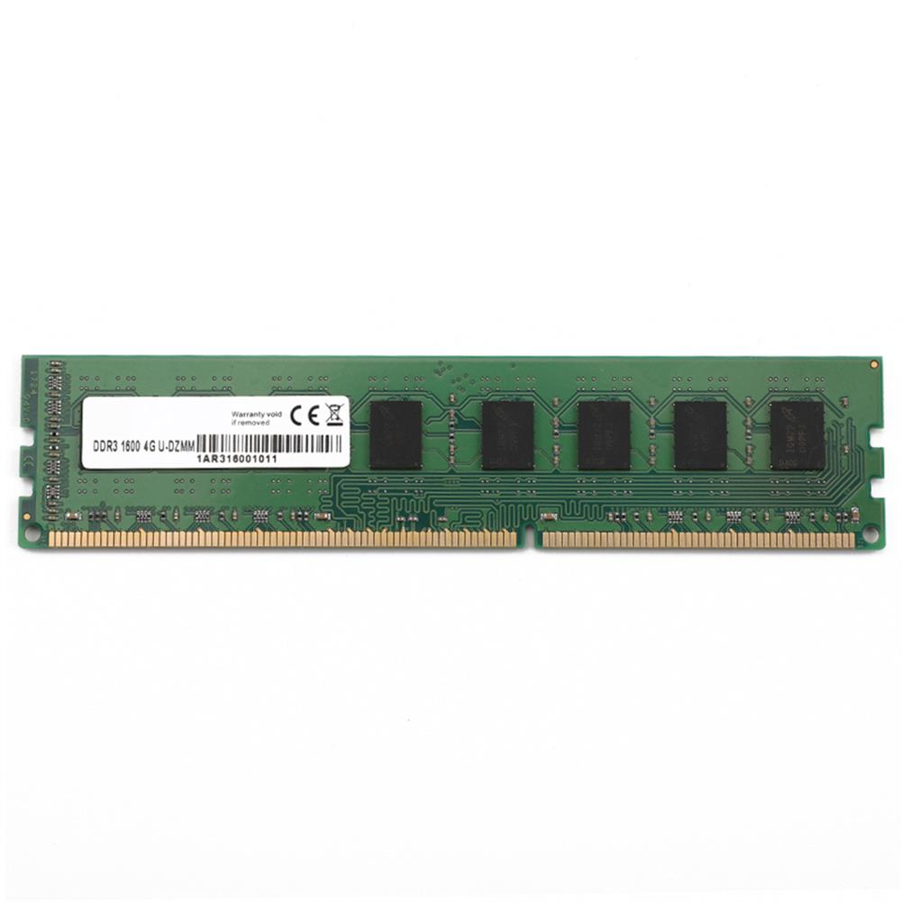 memory Neutral 204PIN DDR3 1600MHz 4GB Memory Module DIMM For PC - Green Neutral 204PIN DDR3 1600MHz 4GB Memory Module DIMM For PC Green
