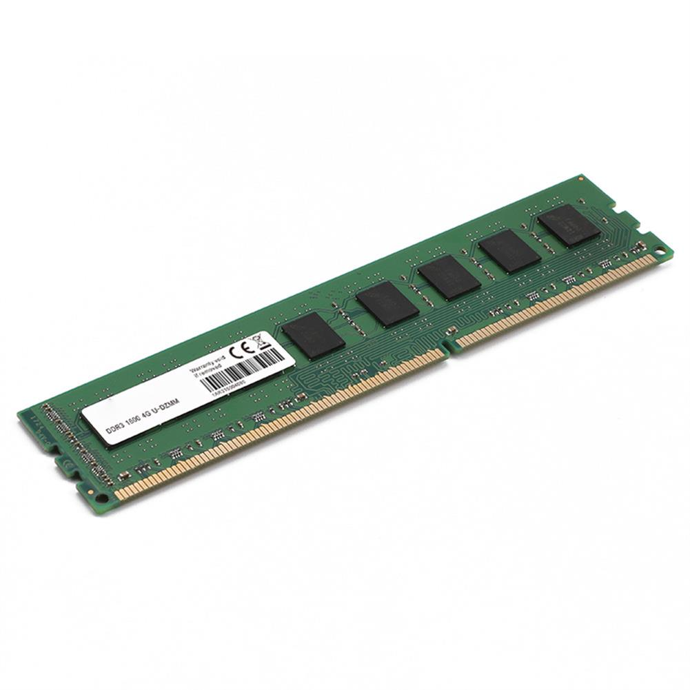 memory Neutral 204PIN DDR3 1600MHz 4GB Memory Module DIMM For PC - Green Neutral 204PIN DDR3 1600MHz 4GB Memory Module DIMM For PC Green 1