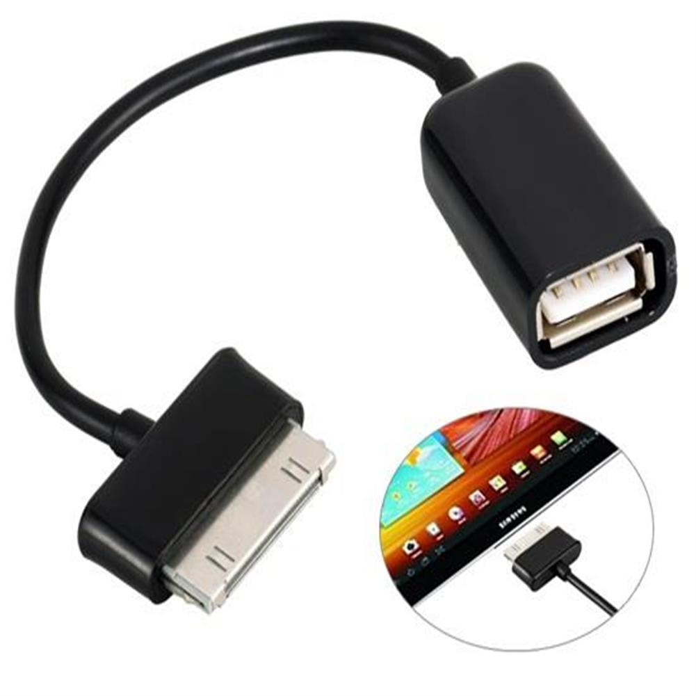 adapters OTG Connecting Cable for Samsung Tablet PC (Black) OTG Connecting Cable for Samsung Tablet PC Black