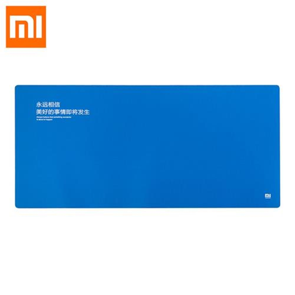 mouse-pads Original XiaoMi Anti-skid Big Size Rubber Mat Mouse Pad Bright Light Office Daily Supplies Computer - Blue Original XiaoMi Anti skid Big Size Rubber Mat Mouse Pad Bright Light Office Daily Supplies Computer Blue