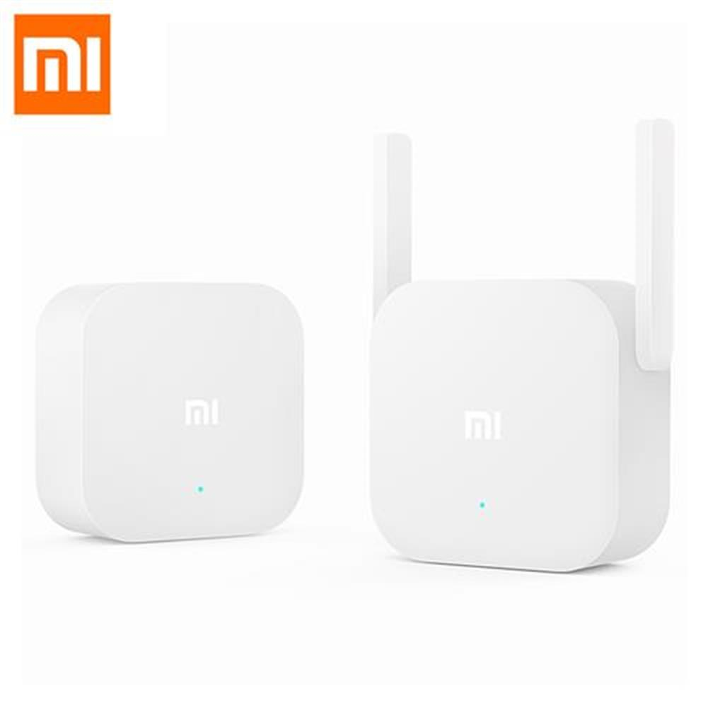 routers-modems Original Xiaomi 300Mbps 2.4G WiFi Home Plug Wireless Power Line Transmission Plug And Play Ethernet Adapter US Plug - White Original Xiaomi 300Mbps 2 4G WiFi Home Plug Wireless Power Line Transmission Plug And Play Ethernet Adapter US Plug White