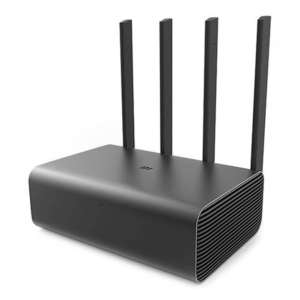routers-modems-Original Xiaomi Mi Router Pro 2600Mbps Wireless Dual Bands WiFi App Control with 4 Antenna - Gray-Original Xiaomi Mi Router Pro 2600Mbps Wireless Dual Bands WiFi App Control with 4 Antenna Gray