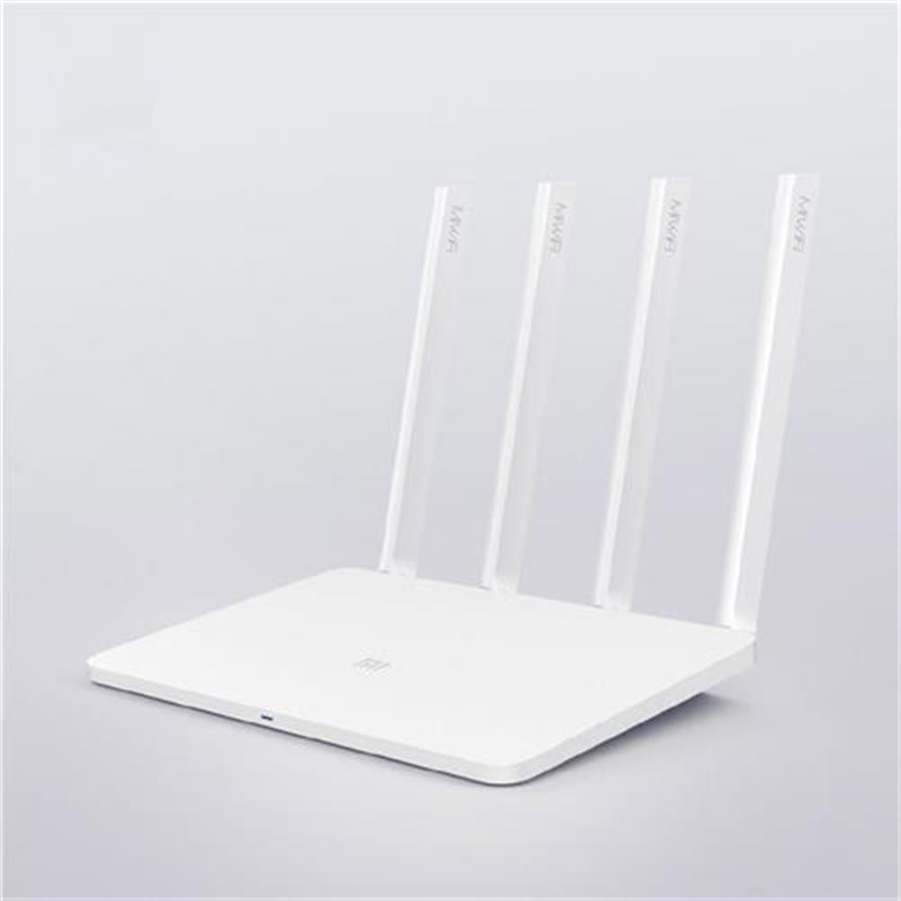 routers-modems-Original Xiaomi Mi WiFi 3 Xiaomi Router 3 Smart Mini WiFi Repeater 4 Antennas 1167Mbps Dual Band 128MB Flash ROM Support iOS Android APP - White(CN Version)-Original Xiaomi Mi WiFi 3 Xiaomi Router 3 Smart Mini WiFi Repeater 4 Antennas 1167Mbps Dual Band 128MB Flash ROM Support iOS Android APP White CN Version