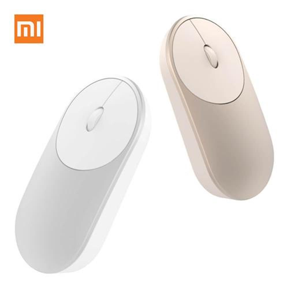 wireless-mouse-Original Xiaomi Portable Mouse Mi Mouse Bluetooth 4.0 / RF 2.4GHz Wireless Dual Modes Connection for PC Laptop - Silver-Original Xiaomi Portable Mouse Mi Mouse Bluetooth 4 0 RF 2 4GHz Wireless Dual Modes Connection for PC Laptop Silver