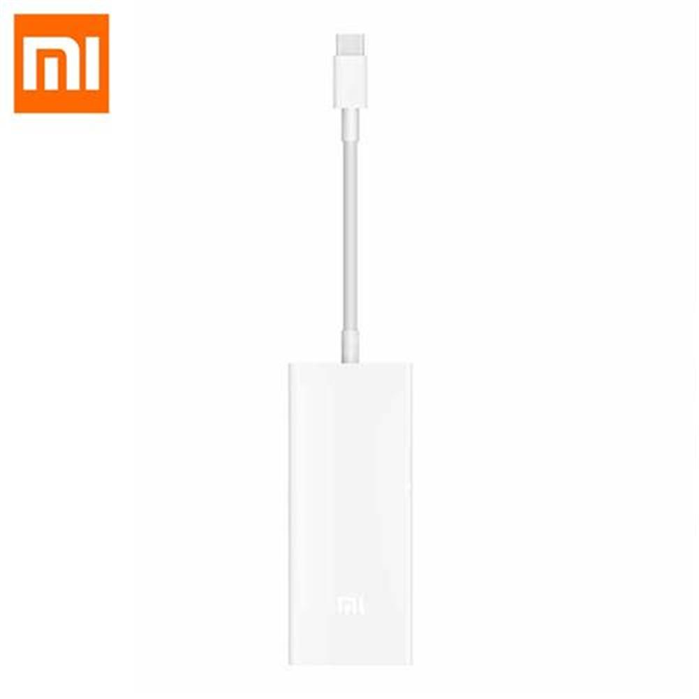 adapters-Original Xiaomi ZJQ02TM Type-C to Mini Displayport Multifunctional Adapter - White-Original Xiaomi ZJQ02TM Type C to Mini Displayport Multifunctional Adapter White