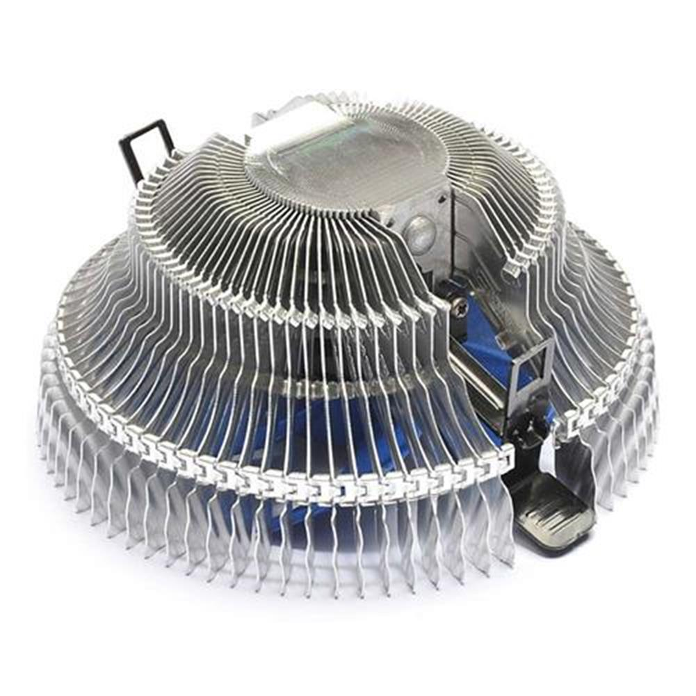 fan-cooling PCCOOLER Qingniao 3 Ultra-silent CPU Cooler Fan Temperature Controller with 4 x 6mm Heat Pipe - Silver and Blue PCCOOLER Qingniao 3 Ultra silent CPU Cooler Fan Temperature Controller with 4 x 6mm Heat Pipe Silver and Blue 1