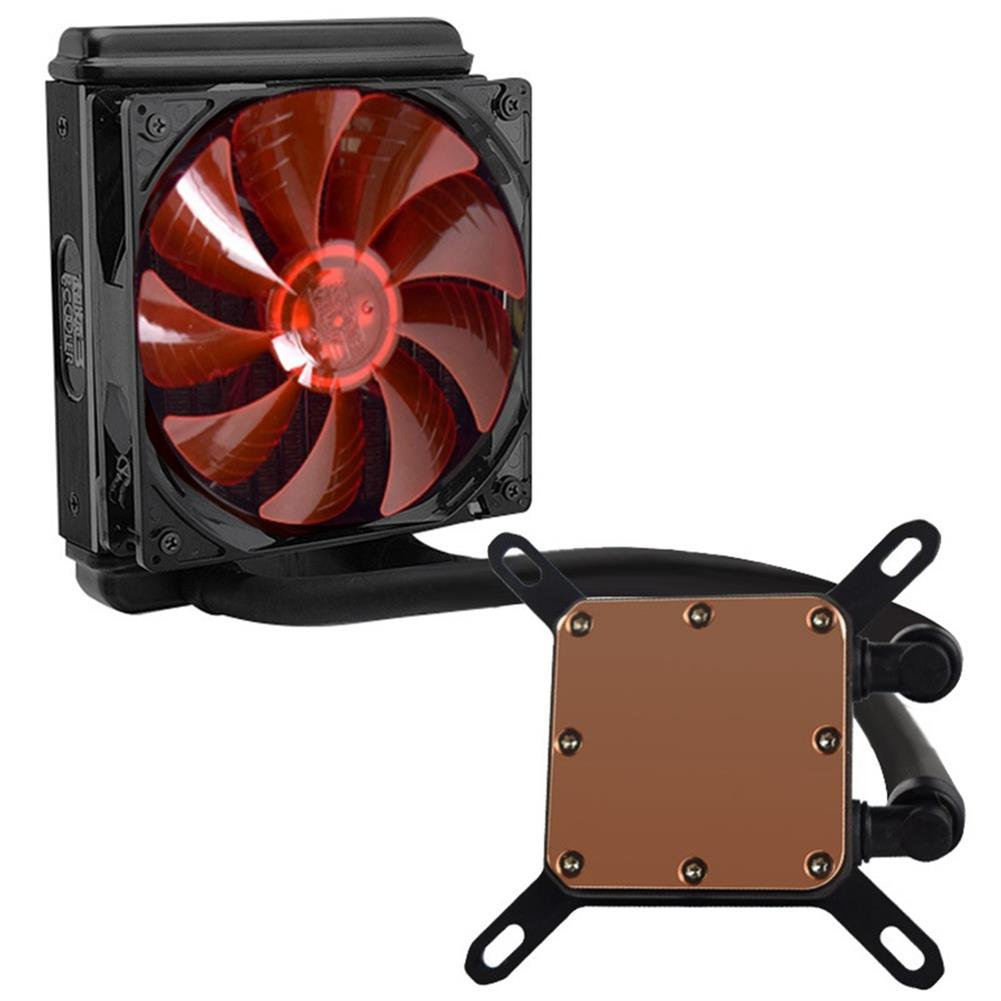 fan-cooling Pccooler Billow 120 CPU Water Cooling Fan Temperature Controller With LED Red Light 120mm Fan - Red + Black Pccooler Billow 120 CPU Water Cooling Fan Temperature Controller With LED Red Light 120mm Fan Red Black 1