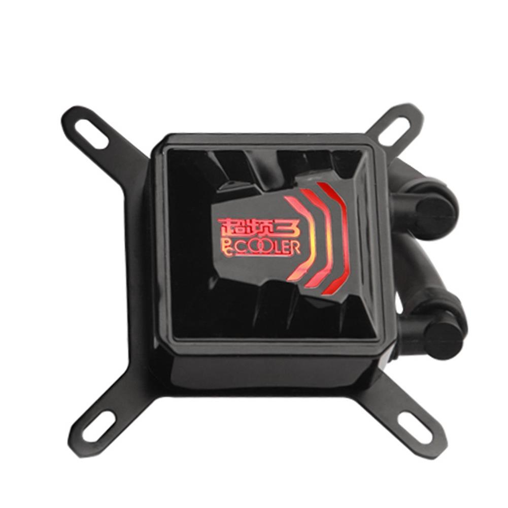 fan-cooling Pccooler Billow 120 CPU Water Cooling Fan Temperature Controller With LED Red Light 120mm Fan - Red + Black Pccooler Billow 120 CPU Water Cooling Fan Temperature Controller With LED Red Light 120mm Fan Red Black 2