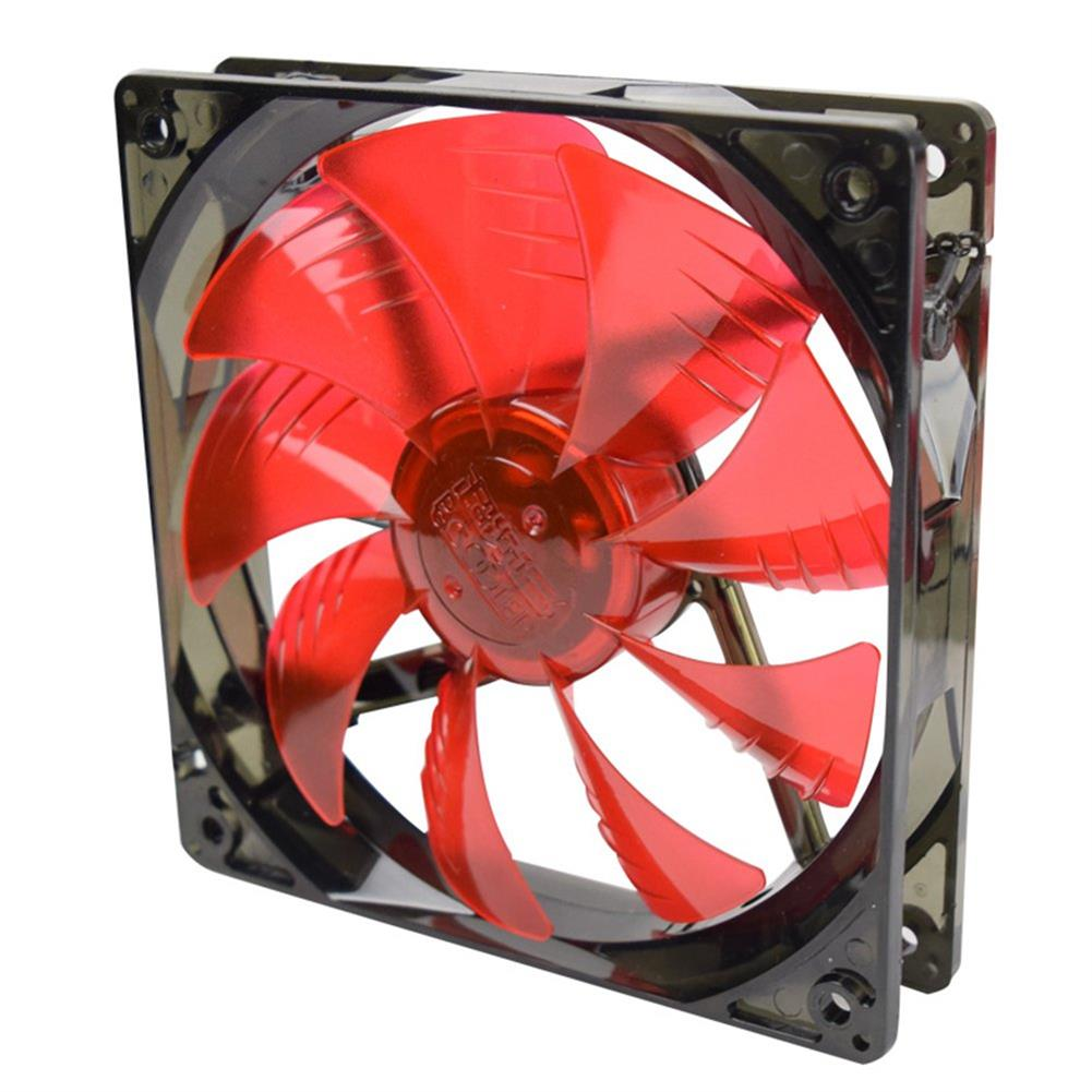 fan-cooling Pccooler Billow 120 CPU Water Cooling Fan Temperature Controller With LED Red Light 120mm Fan - Red + Black Pccooler Billow 120 CPU Water Cooling Fan Temperature Controller With LED Red Light 120mm Fan Red Black 4