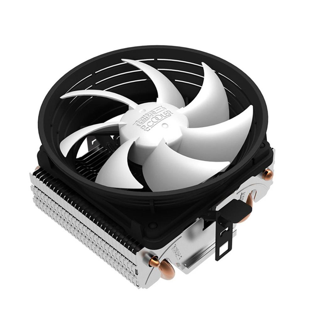 fan-cooling-Pccooler Ladybird V4 Ultra-silent CPU Cooler Fan With Dual Heat Pipes - White-Pccooler Ladybird V4 Ultra silent CPU Cooler Fan With Dual Heat Pipes White