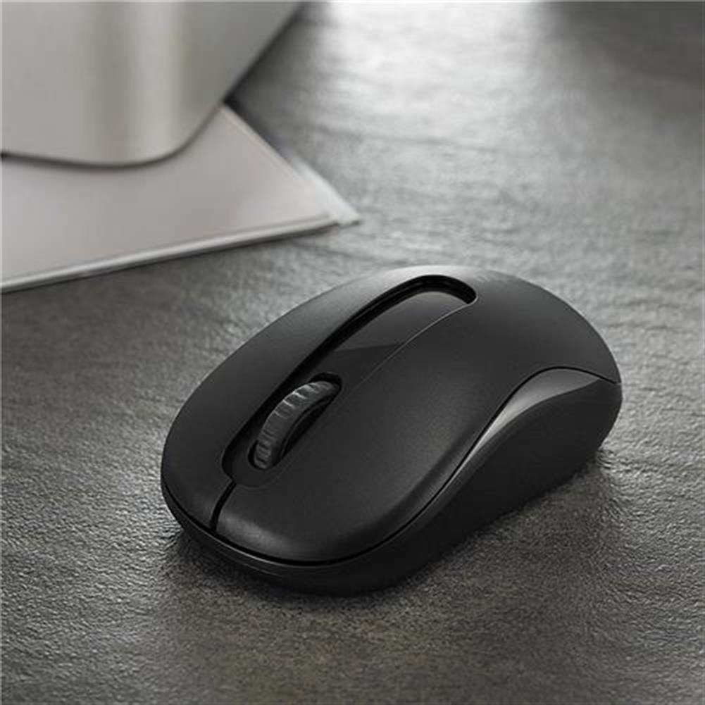 wireless-mouse-Rapoo M10 2.4G Wireless Optical Mouse 1000DPI Long Battery Life - Black-Rapoo M10 2 4G Wireless Optical Mouse 1000DPI Long Battery Life Black 3