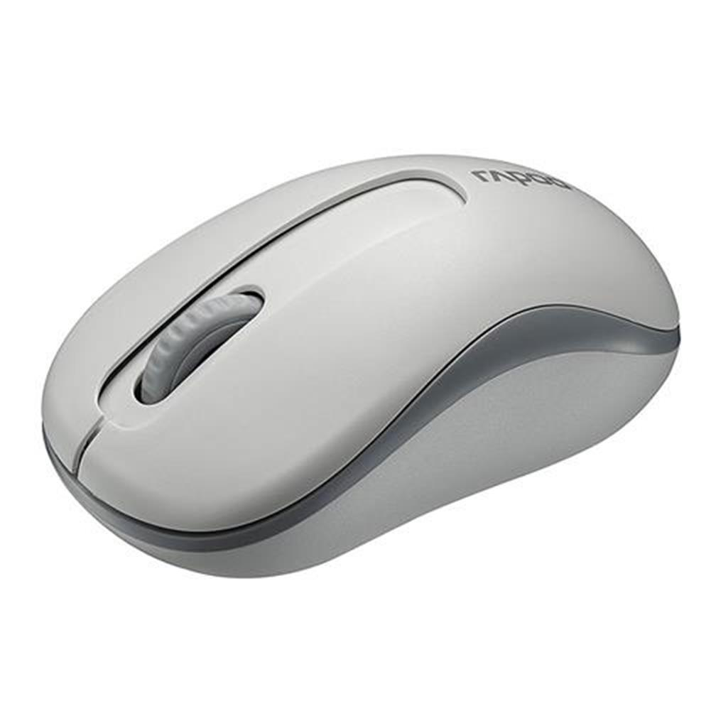 wireless-mouse-Rapoo M10 2.4G Wireless Optical Mouse 1000DPI Long Battery Life - White-Rapoo M10 2 4G Wireless Optical Mouse 1000DPI Long Battery Life White