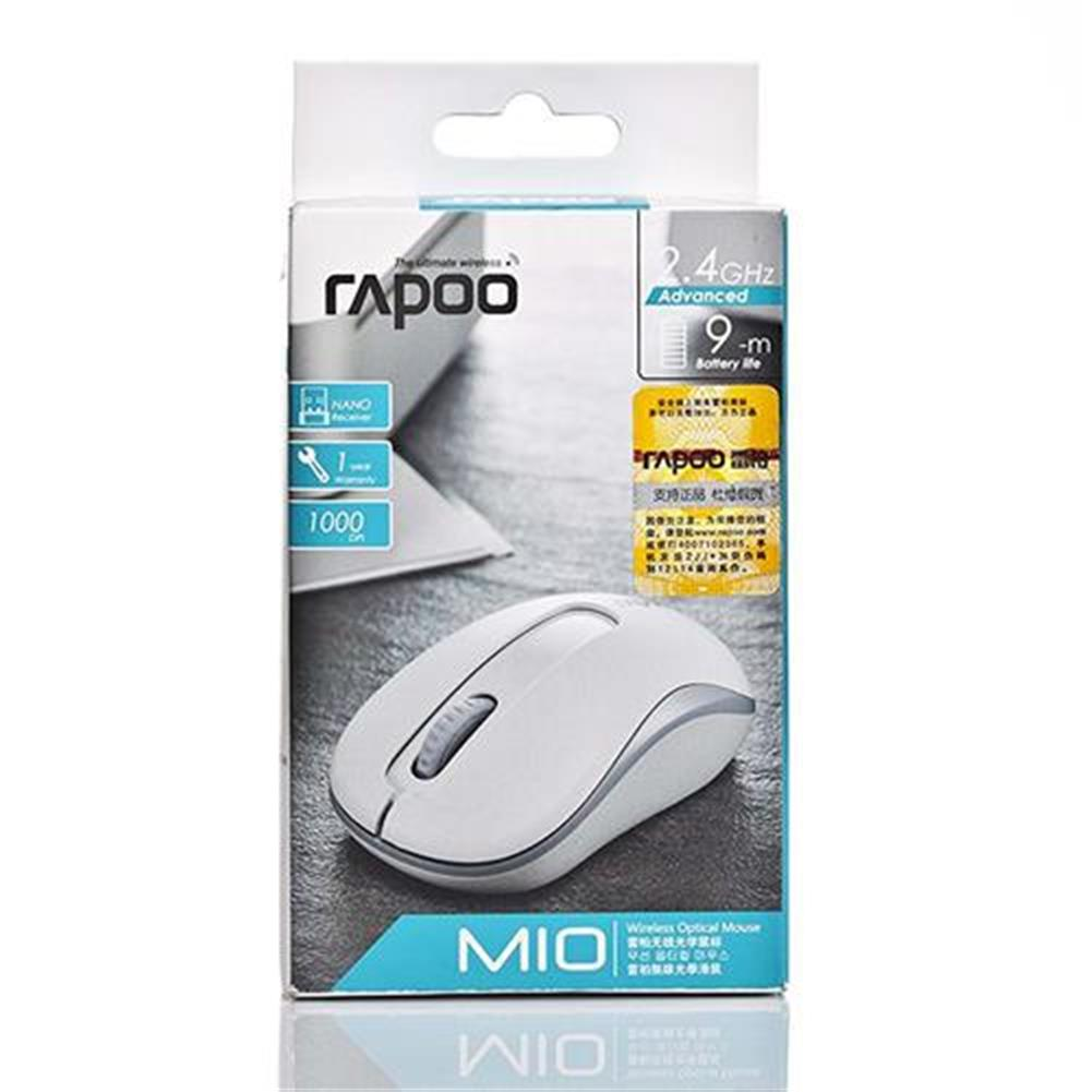 wireless-mouse-Rapoo M10 2.4G Wireless Optical Mouse 1000DPI Long Battery Life - White-Rapoo M10 2 4G Wireless Optical Mouse 1000DPI Long Battery Life White 4