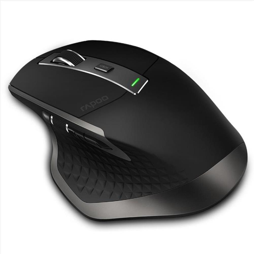 wireless-mouse-Rapoo MT750 Bluetooth Multimode Wireless Mouse 2.4G Wireless/Bluetooth 3.0/Bluetooth 4.0 Office Mouse - Black-Rapoo MT750 Bluetooth Multimode Wireless Mouse 2 4G Wireless Bluetooth 3 0 Bluetooth 4 0 Office Mouse Black 3