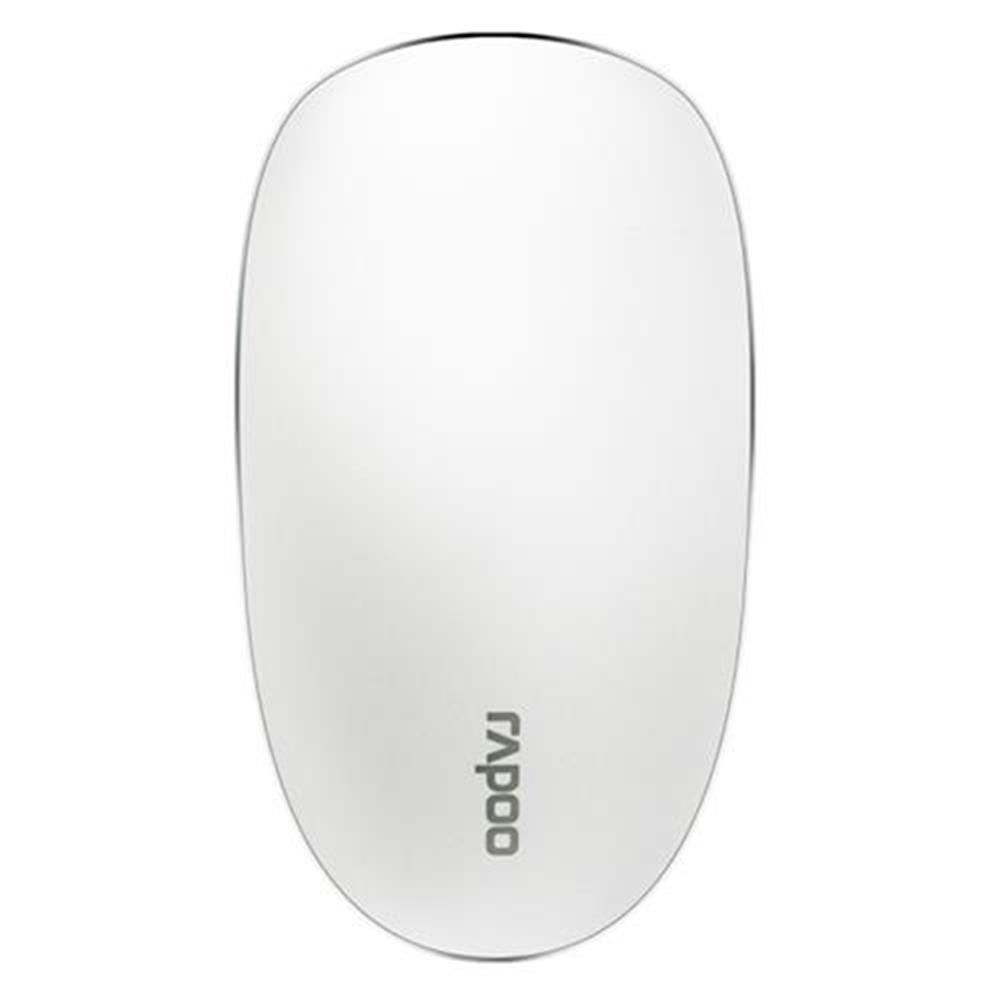 wireless-mouse-Rapoo T8 USB Wireless  Mouse 5.8GHz Ultra-Thin Laser Touch Mouse Durable  Slient Clicking - White-Rapoo T8 USB Wireless Mouse 5 8GHz Ultra Thin Laser Touch Mouse Durable Slient Clicking White