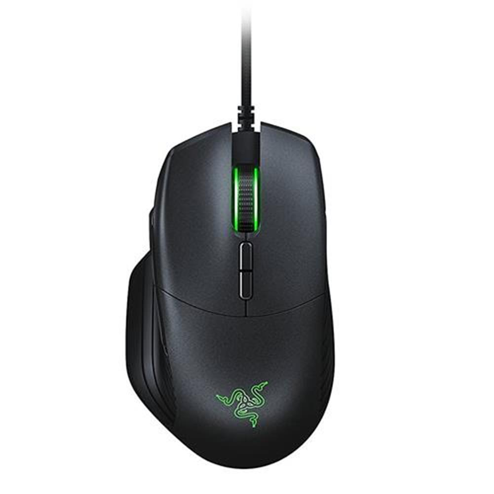 wired-mouse-Razer Basilisk Wired Gaming Mouse Chroma Enabled RGB FPS 16000 DPI Customizable Scroll Wheel Resistance - Black-Razer Basilisk Wired Gaming Mouse Chroma Enabled RGB FPS 16000 DPI Customizable Scroll Wheel Resistance Black