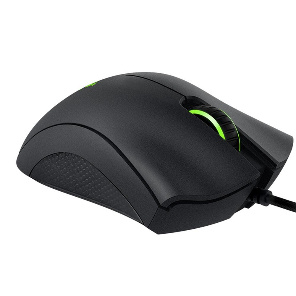 wired-mouse Razer DeathAdder Essential Optical Professional Grade Gaming Mouse Ergonomic Right-handed Design 6400 Adjustable DPI - Black Razer DeathAdder Essential Optical Professional Grade Gaming Mouse Ergonomic Right handed Design 6400 Adjustable DPI Black 3